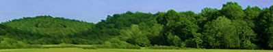 Image of summer in the rolling hills of Athens County, Ohio